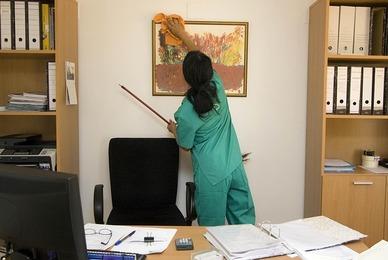 Entreprise de nettoyage pour bureaux