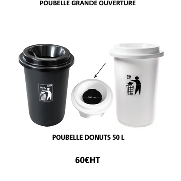 poubelle donuts