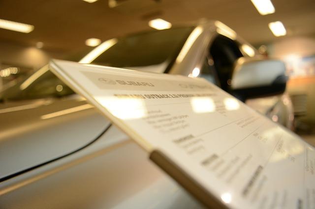 Le nettoyage chez un concessionnaire automobile